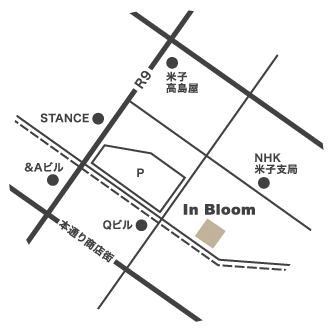 インブルーム地図